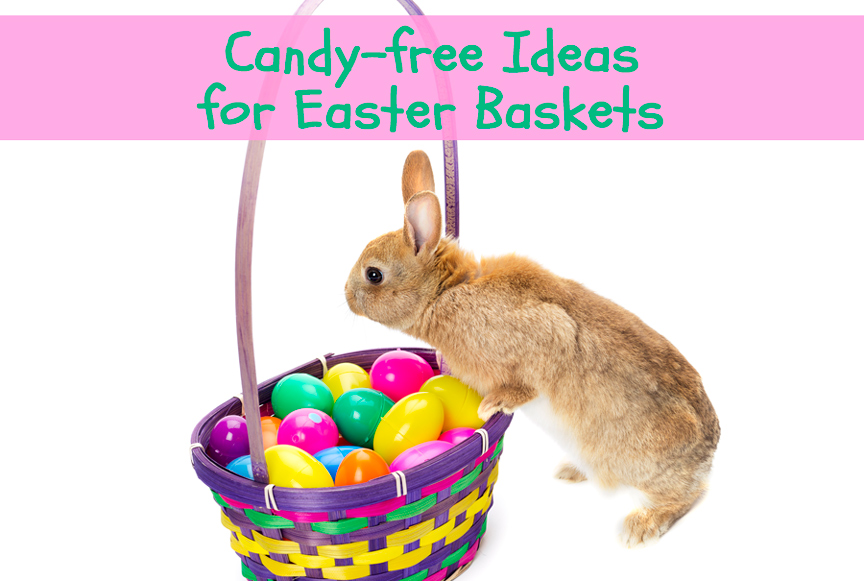 Candy-free Ideas for Easter Baskets