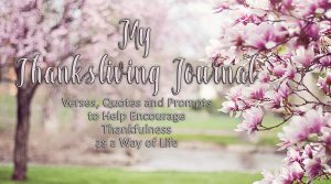 My Thanksliving Journal – New Product
