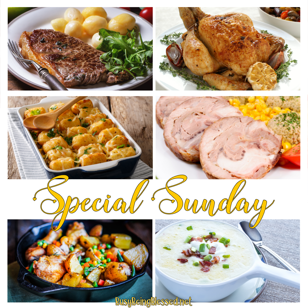Special Sunday Recipe Roundup